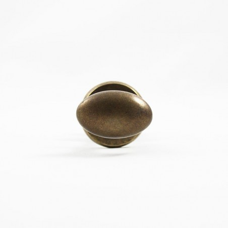 Türknöpfepaar Bronze Antik