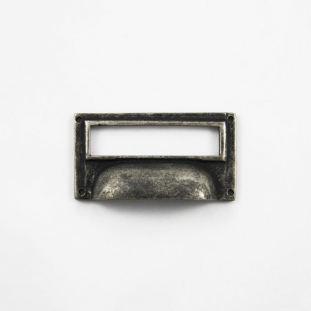 Schubladengriff Silber Antik