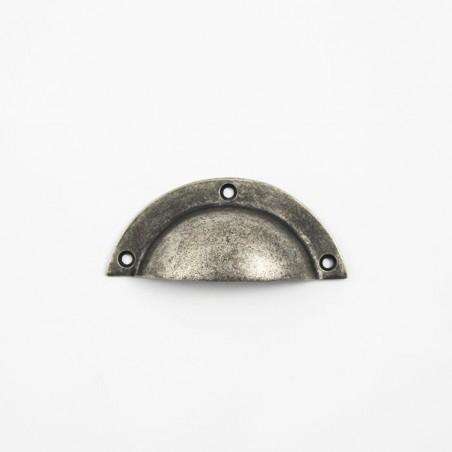 Muschelgriff Silber Antik