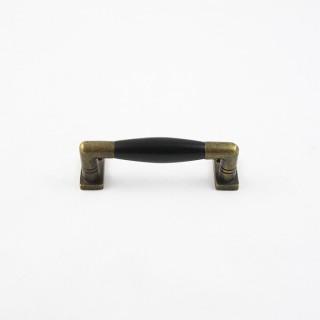 Griff Bronze Antik Schwarz Ebenholz